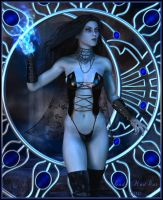 Selene the Black Queen by ladymadcat