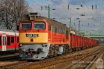 628 332 with goods train in Komarom by morpheus880223