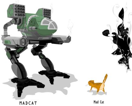 MADCAT mad cat by Super-Fuzzy