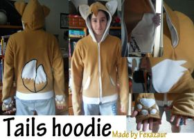 Tails hoodie by Foxnoir6