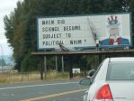 Billboard Occupation Chehalis WA USA  2 by mebyrne57