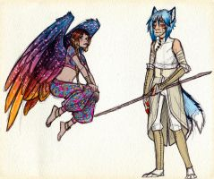 Orion and Myhr by MayVig