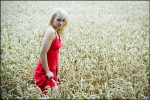 Red Dress II by Dyxtreme