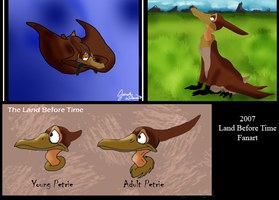 OLD ART - Petrie Land Before Time by WeisseEdelweiss