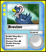 Bravian Card (Adopt) by Dianamond