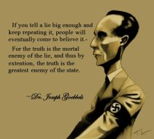 Dr. Joseph Goebbels by tree27
