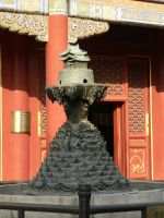statue at Yong He Gong Temple by Hansmar