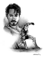Iron Man Movie Character Study by RandySiplon