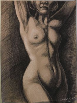 Life drawing final by 7AirGoddess3