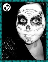 sugar skull 2 by LadyPrincessJess