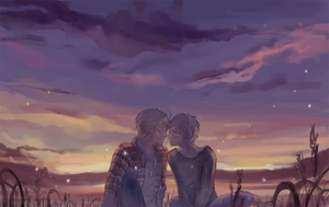 USUK- summer dusk by hakuku