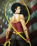 Wonder Woman by IAmSamael