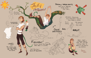 Jacky's Hetherev Ref Sheet by GreekCeltic