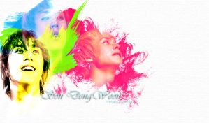 Dongwoon wallpaper by KuroAbsinthe