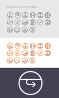 Directional Icons Freebie by BooksWithDarjeeling