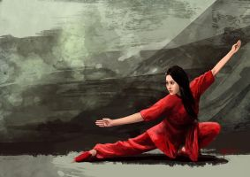 Wushu wallpaper by ArtAnda