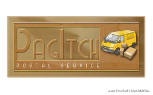 PagItch - Postal Service Logo by InterGlobalFilms