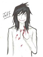 Jeff The Killer by OkumuraJaqueline