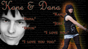 Kane and Dana by Luciferspet