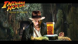 Indiana House MD and the Temple of Vicodin by Rabittooth