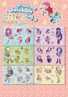 my little pony stickers by 2sbr