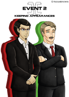 CC: E2 (Slot 4) - Mr Reguera and Mr Sharp by tiakaneko