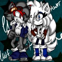 .contest. Wolf Power by AshleyShiotome