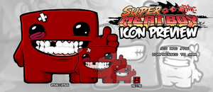 Super Meat Boy Icon by TheInfamousTheft