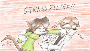 Stress Relief by Mister-Saturn