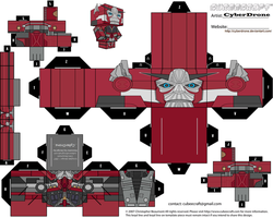 Cubee - Sentinel Prime 'LAM' by CyberDrone