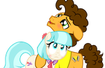 Coco Pommel x Cheese Sandwich part 2 by easterdara