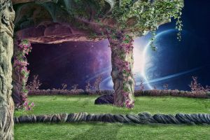 Space garden By Jose86tf by jose86tf