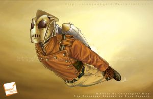 The Rocketeer By Nico by OrangeAsgard