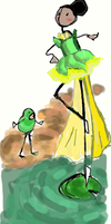 The Princess and the Frog by AfricanAmericanAnime