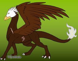 Eagle Dragon by ThePoisonDragoness