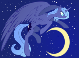 Not so Basic Luna by 3P1CN1NJA