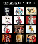 ~Summary Of Art 2016~ by CrazyVik97