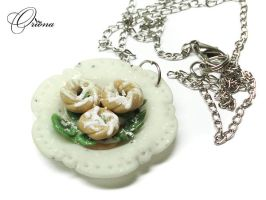 Doughnuts with kiwi by OrionaJewelry