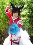 Ahri (Male version) - League of Legends by Kharen94th
