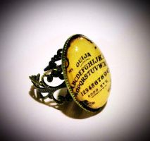 Ouija Board Ring by Horribell-Originals