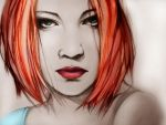Redhead by MaxVelicky