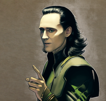 Loki - Fan Art 2 by AndromedaDualitas