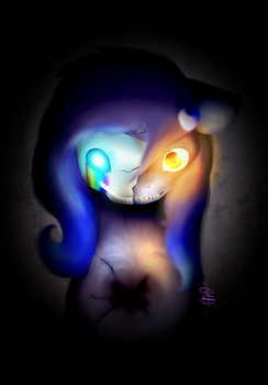 A Mask to Hide Behind -Redo by FrozenTwoDeath