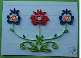 Quilling - Card 15 by Eti-chan