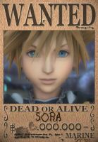 Sora Wanted Poster by SoraKing