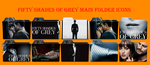 Fifty Shades Of Grey Movie Icons Folder by Aliciax16