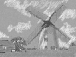 Art Academy: Windmill by SorcererLance