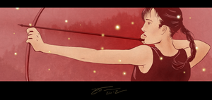 Katniss by SeeminglyCaptivating