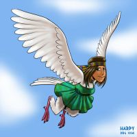 30 Day Monster Girl Challenge - 01 Harpy by BahalaNa