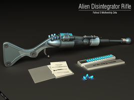 Alien Disintegrator Rifle by Progenitor89